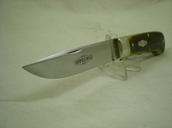 GEC Northfield #235220 Pioneer Trapper, Antique Autumn Natural Bone