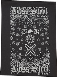 BOSS STEEL BLADES NECK GAITER