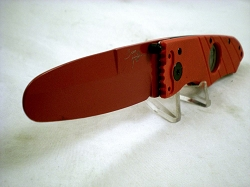 Hoffner 3.5 Red Trainer Folder, Red G10, ZERO EDGE Training Blade